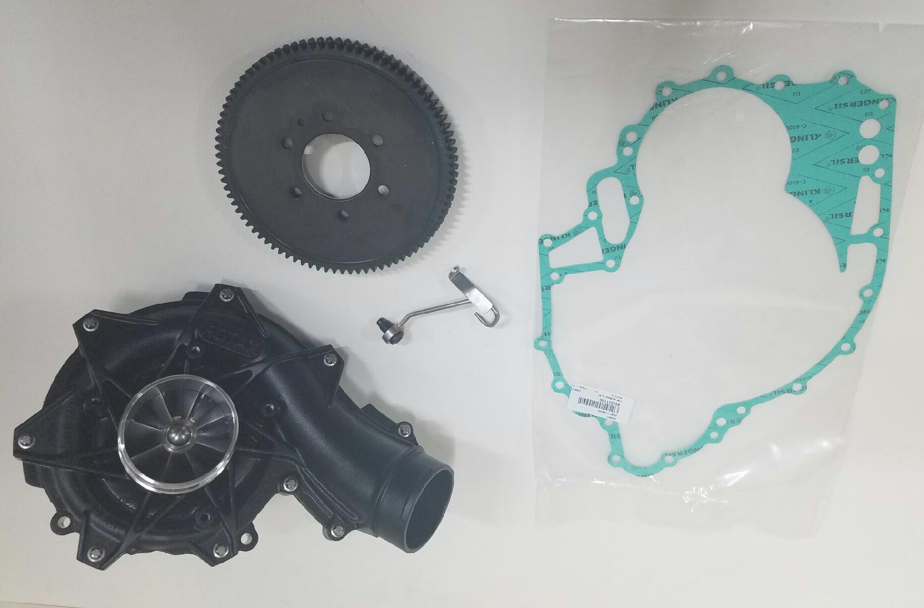 RIVA 300 XXX Supercharger conversion kit for older skis