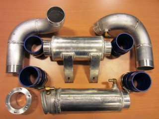 Rotax Racing EXHAUST PIPE FACTORY KIT