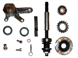 Rotax Racing COMPRESSOR DRIVE KIT RACING with third bearing