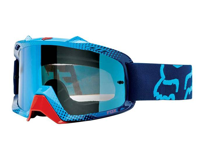 Fox Performance MX Air Space Goggles -Race Blue/Red
