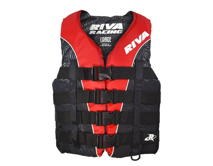 RIVA Life Vest - Red/Black