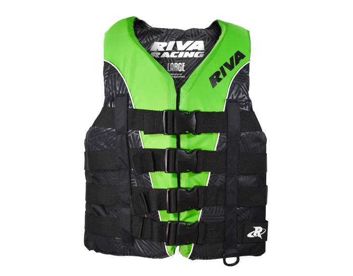 RIVA Life Vest - Green/Black