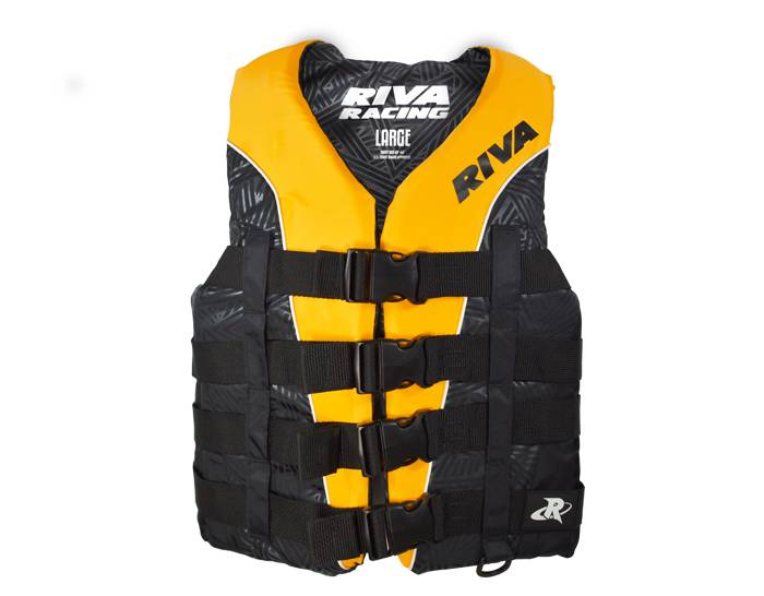 RIVA Life Vest - Yellow/Black