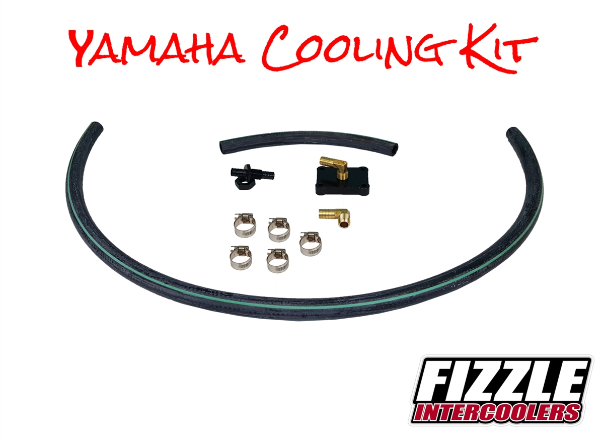 Fizzle Yamaha Cooling Upgrade Kit (2017 and older)