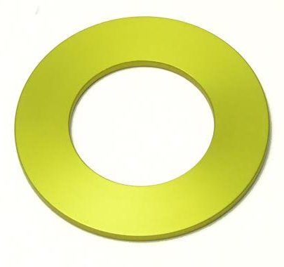 3mm (Yellow) Spacer for use with Lucky 13 Yamaha adjustable pump cone