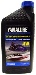 Yamalube Watercraft 4-Stroke Engine Oil 10w40 - Quart