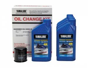 Yamalube Watercraft Oil Change Kit for Sport Boats & Waverunners (non 1.8L engines)