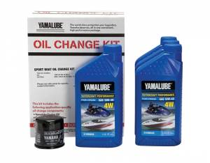 Yamalube Watercraft Oil Change Kit for Sport Boats & Waverunners (1.8L engines)