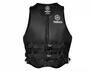 Yamaha Value Neoprene 2-Buckle Unisex PFD Black