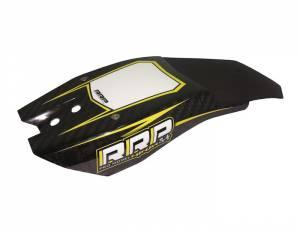 Rick Roy Ninja Chin Pad Carbon - Yellow