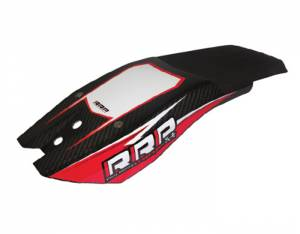 Rick Roy Ninja Chin Pad Carbon Look - Black/Red