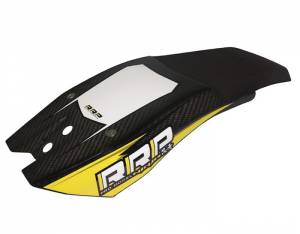 Rick Roy Ninja Chin Pad Carbon Look - Black/Yellow