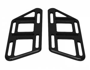 Rick Roy Aluminum Foot Plate Set - Black