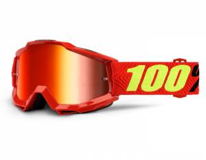 100% Accuri Goggles - Saarinen Red
