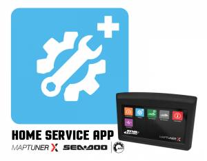 MaptunerX Sea Doo Diagnostic Home Service Application