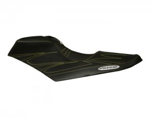 RIVA Seadoo RXP-X 260/300 Seat Cover - Black with Yellow Stitching