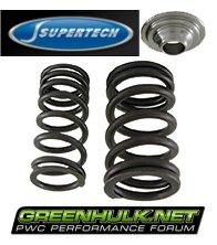 Supertech Sea-Doo Dual Valve Spring & Titanium Retainer Kit for 185/215/255/260/300 HP Engines
