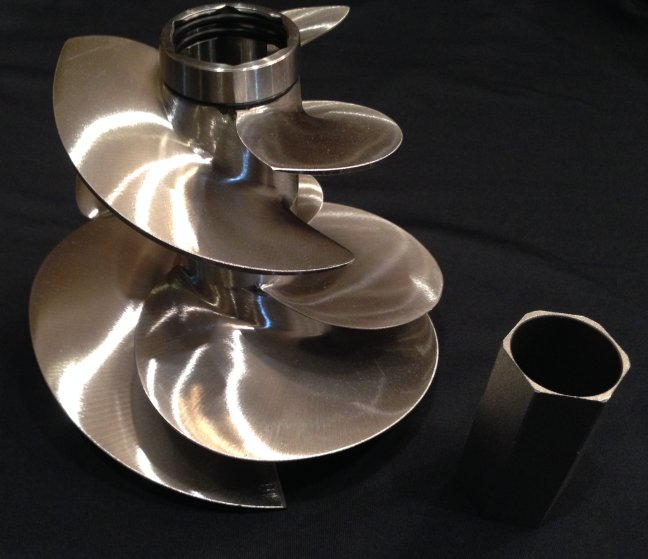 Skat-Trak Dual Impeller for Flyboard using Sea Doo Watercraft