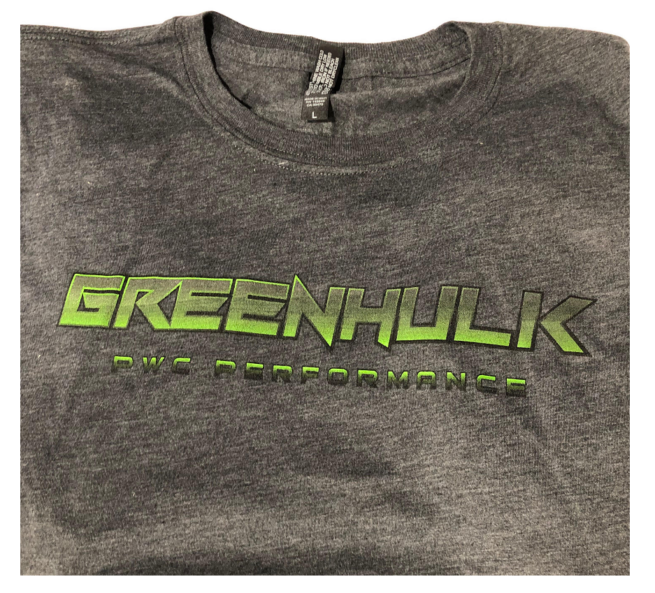 GREENHULK Softstyle T-Shirt - Graphite Heather Grey
