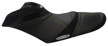 RIVA Seadoo RXP-X 260/300 Seat Cover Black with Silver stitching