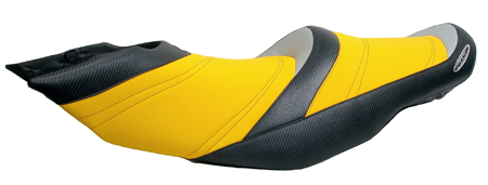RIVA Seadoo RXT S3 Seat Cover BLK/YEL