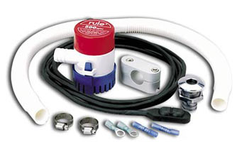 Bilge Pump Kit, Deluxe