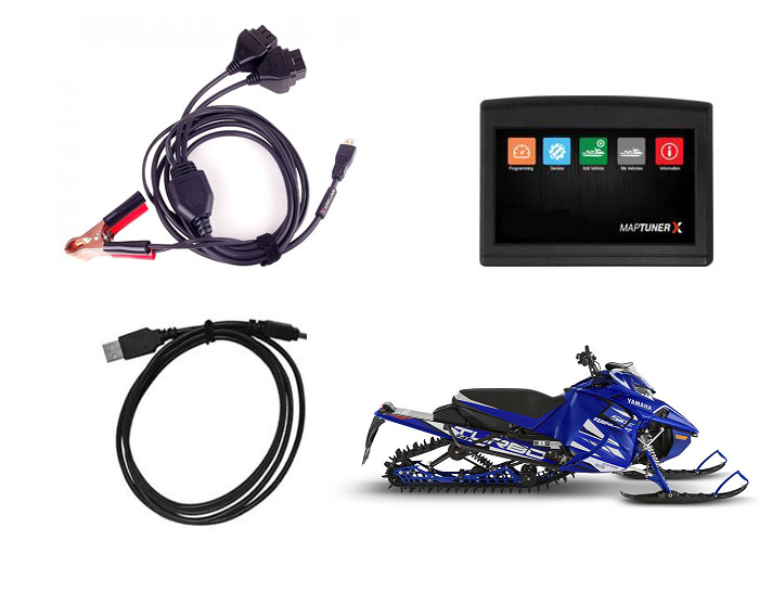 Maptun Snowmobile MaptunerX ECU Reflashing & Reprogramming