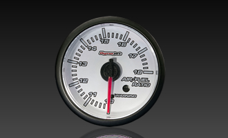 Dynojet White Face Analog Gauge