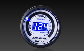 Dynojet White Face Digital Gauge